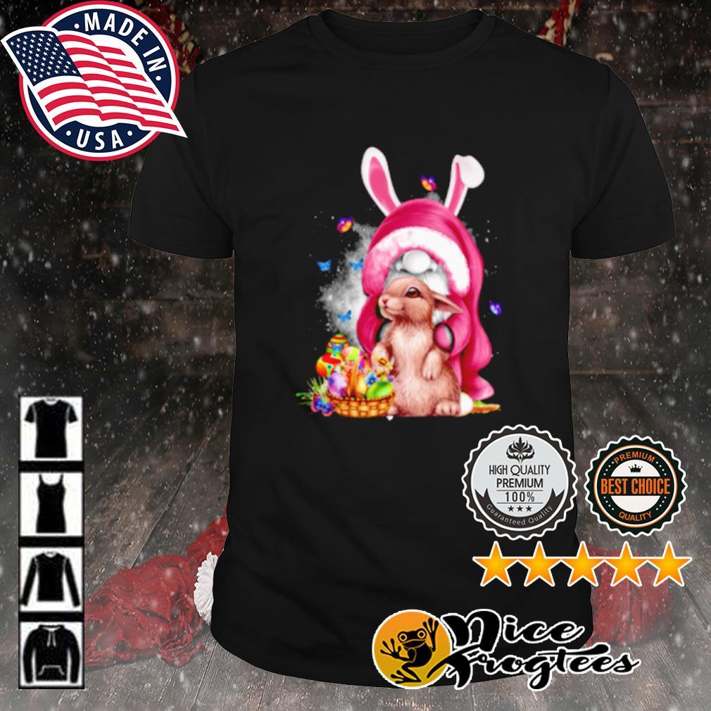 Gnome Hug Rabbit Easter Day shirt