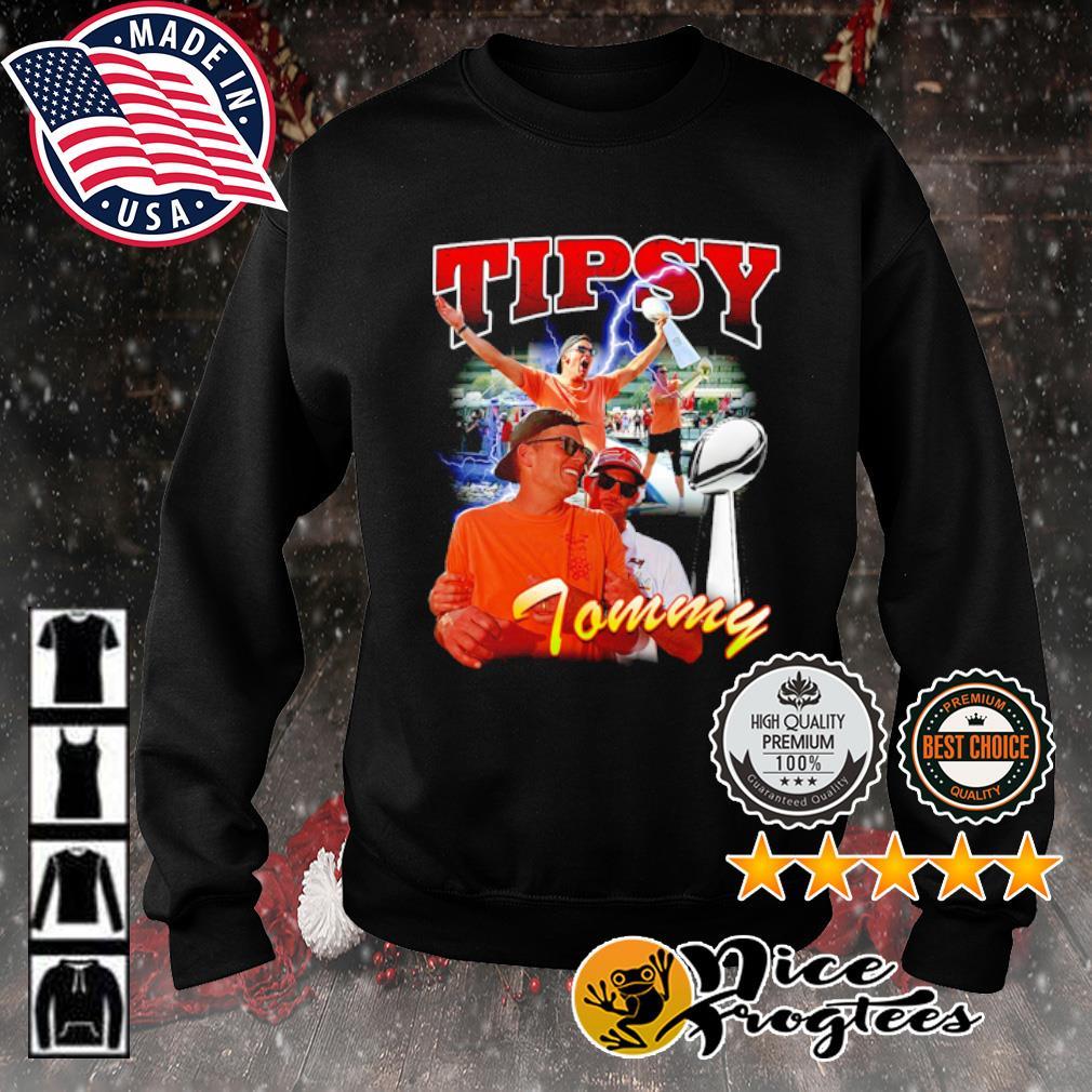 Tom Brady Tipsy Tommy s sweater