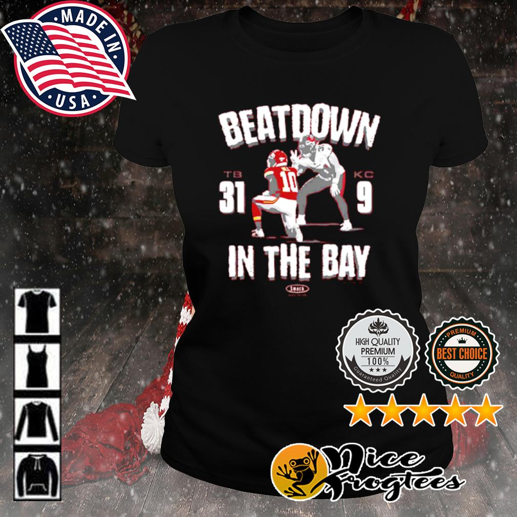 Beatdown Tampa Bay Buccaneers 31-9 Kansas City Chief in the Bay s ladies-tee