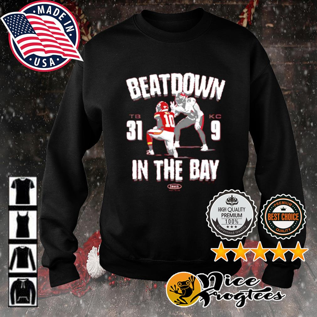 Beatdown Tampa Bay Buccaneers 31-9 Kansas City Chief in the Bay s sweater