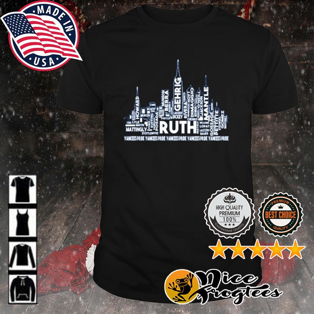 Ruth Yankees pride shirt
