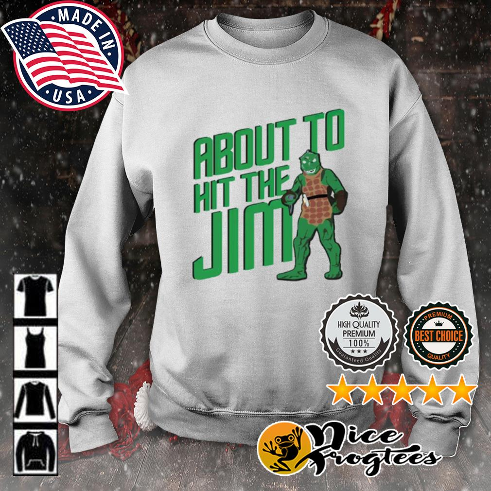 Star Trek about to hit the Jim s sweater