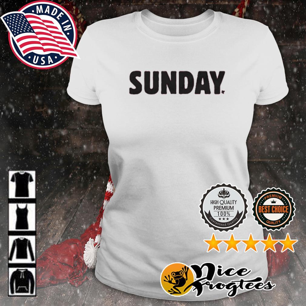 Sunday Red s ladies-tee