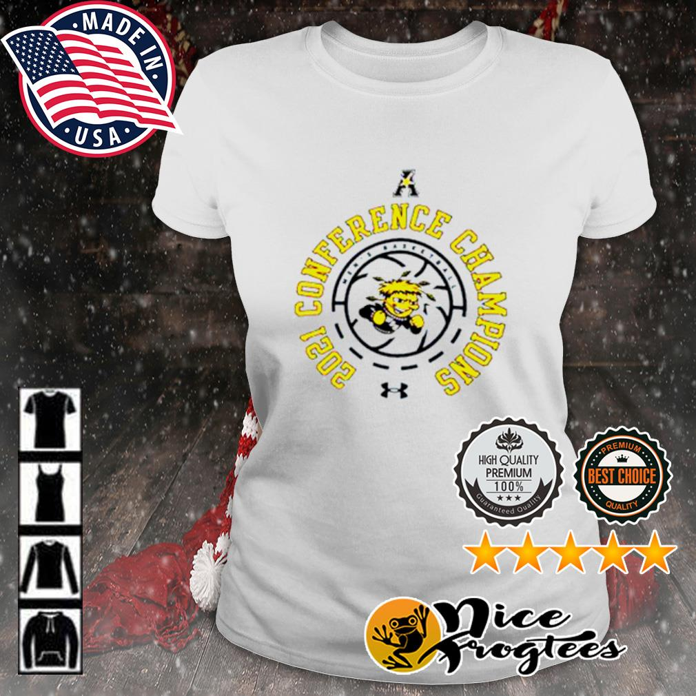 Wichita State Shockers men's basketball 2021 conference champions s ladies-tee