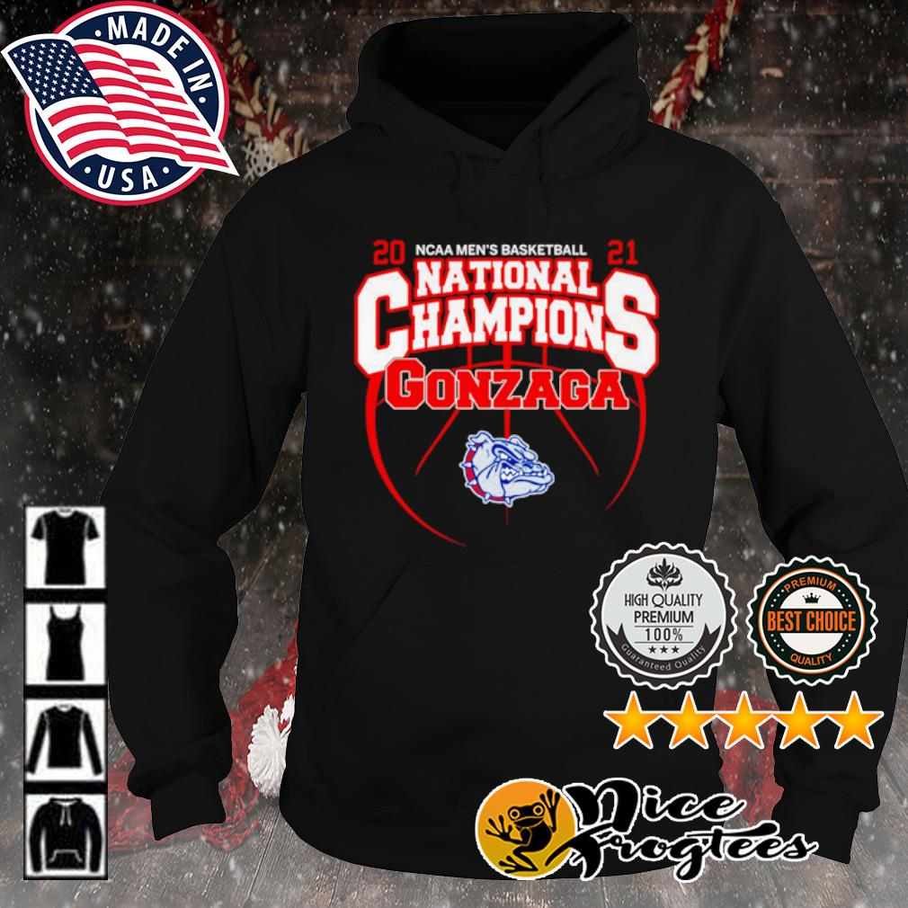 2021 NCAA men's basketball National Champions Gonzaga Bulldogs s hoodie