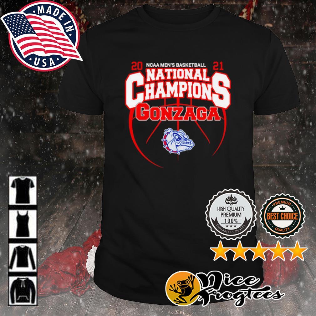 2021 NCAA men's basketball National Champions Gonzaga Bulldogs shirt