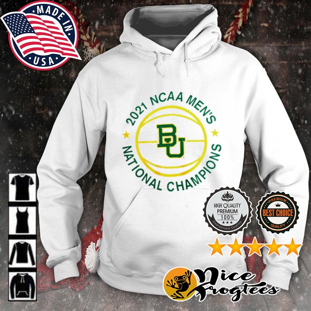 2021 NCAA Men's Baylor Bears National Champions s hoodie