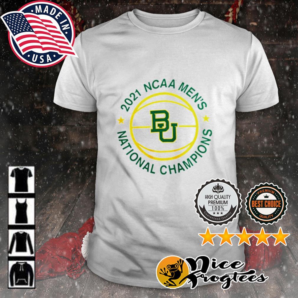 2021 NCAA Men's Baylor Bears National Champions shirt
