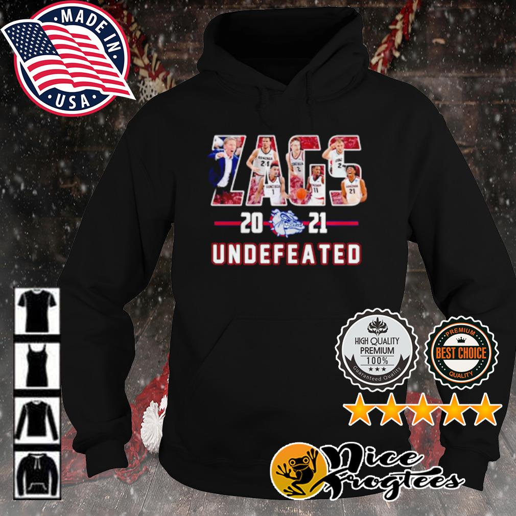 Gonzaga Bulldogs Zags 2021 Undefeated s hoodie