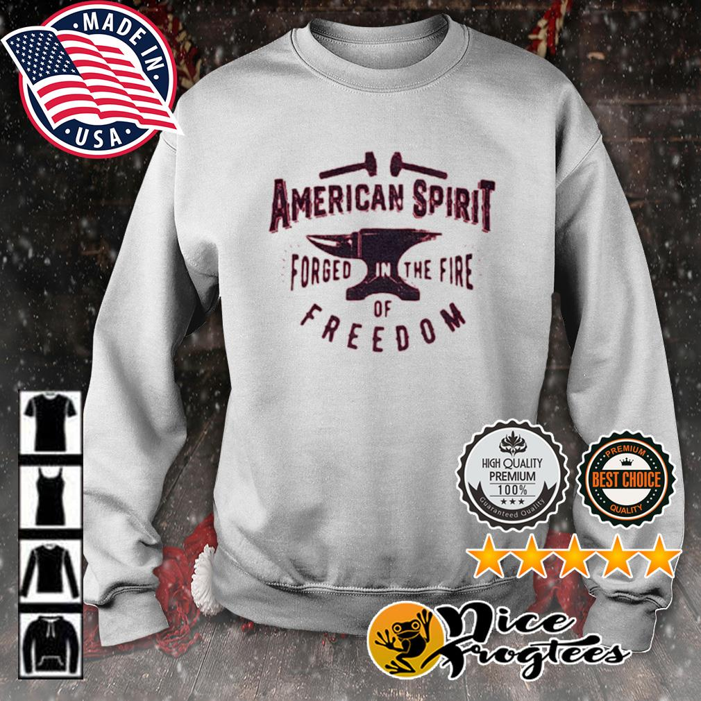 American spirit forged in the fire of freedom s sweater
