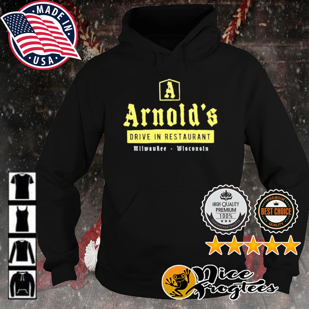 Arnold's drive in restaurant Milwaukee Wisconsin s hoodie