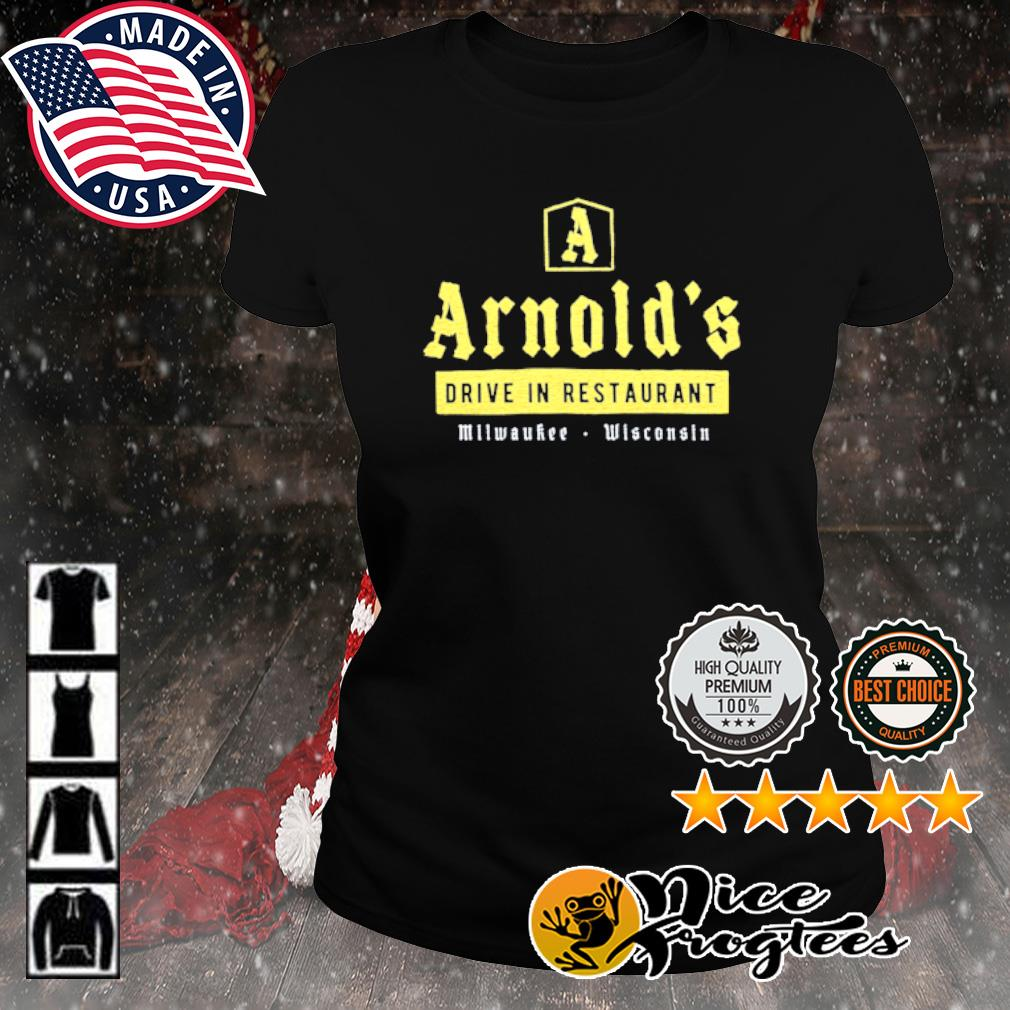 Arnold's drive in restaurant Milwaukee Wisconsin s ladies-tee