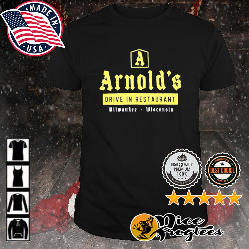 Arnold's drive in restaurant Milwaukee Wisconsin shirt
