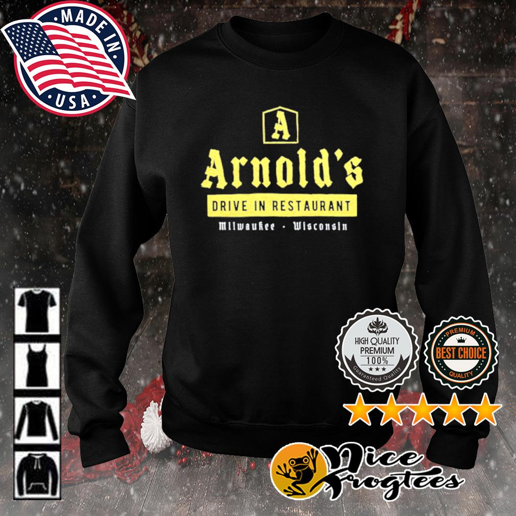 Arnold's drive in restaurant Milwaukee Wisconsin s sweater