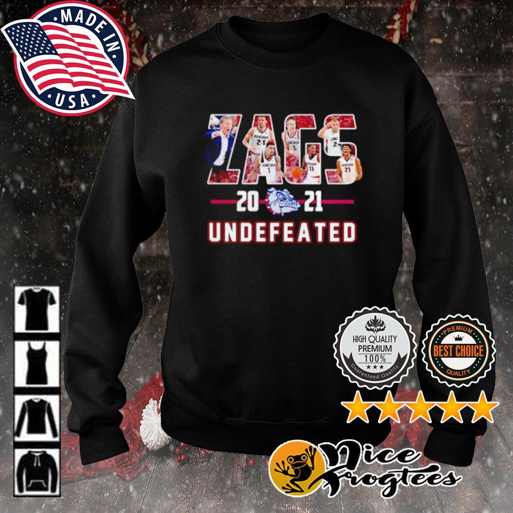 Gonzaga Bulldogs Zags 2021 Undefeated s sweater