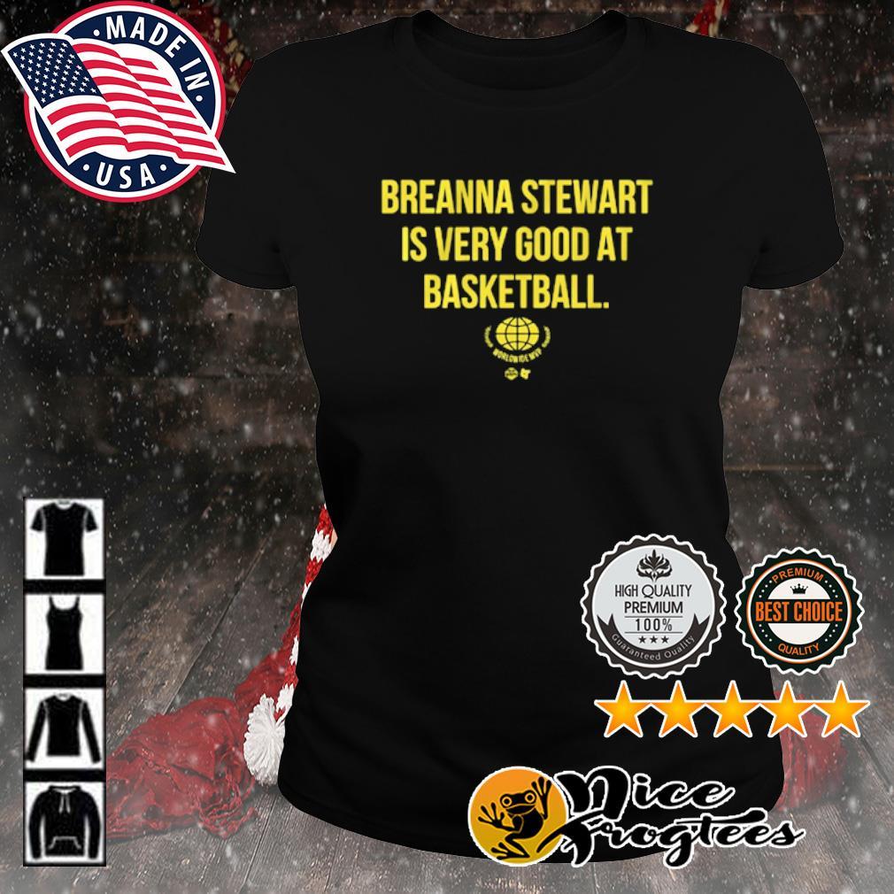 Breanna Stewart Worldwide MVP s ladies-tee