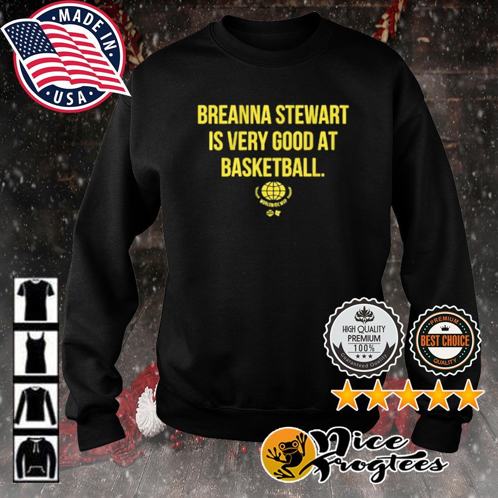 Breanna Stewart Worldwide MVP s sweater