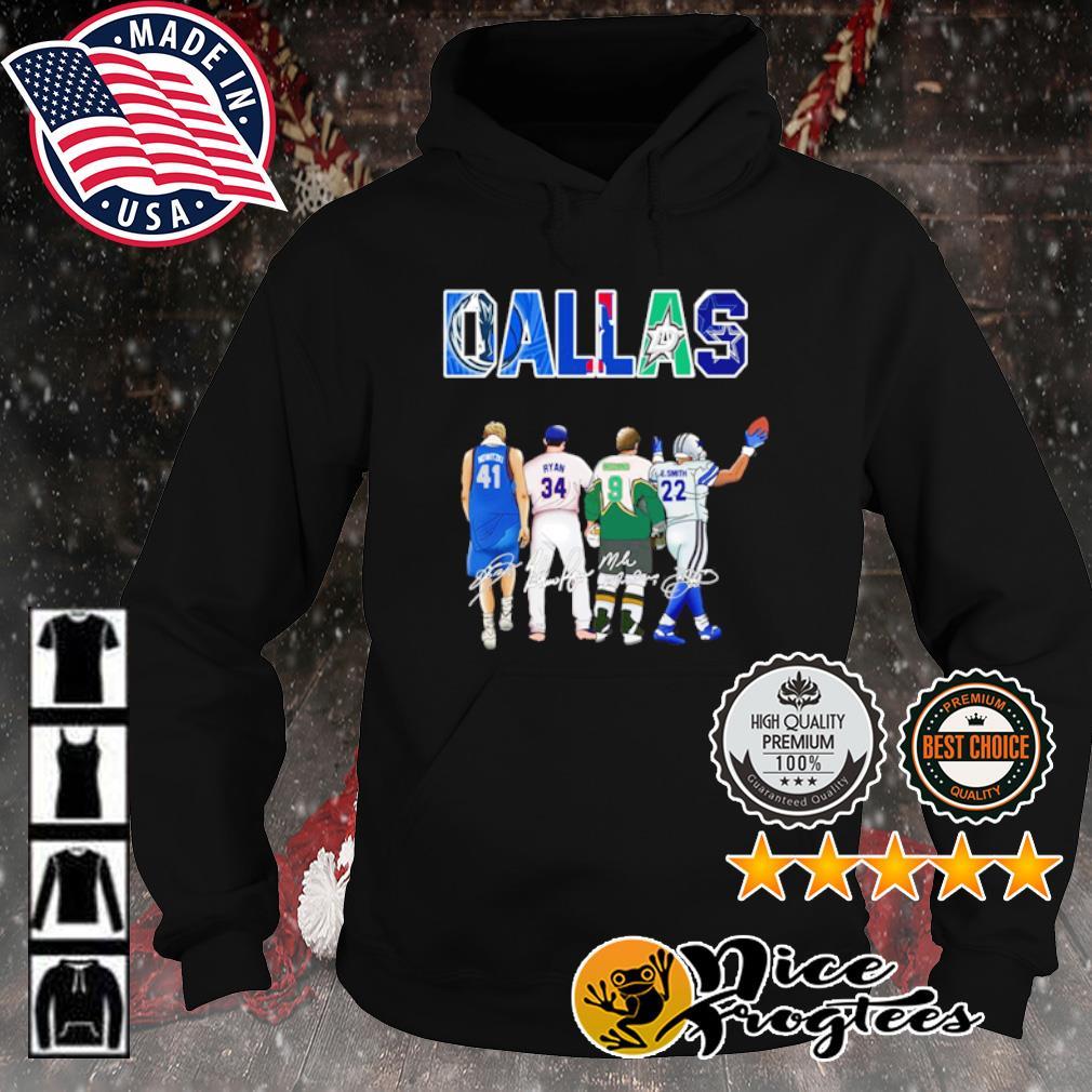 Dallas Dirk Nowitzki Ryan Williams Mike Modano's Emmitt Smith signature s hoodie