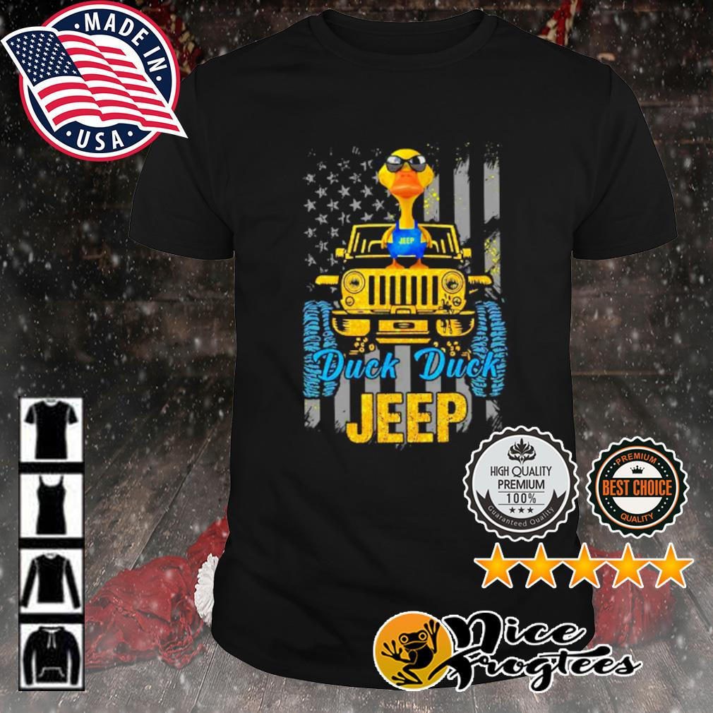Duck duck Jeep American flag shirt