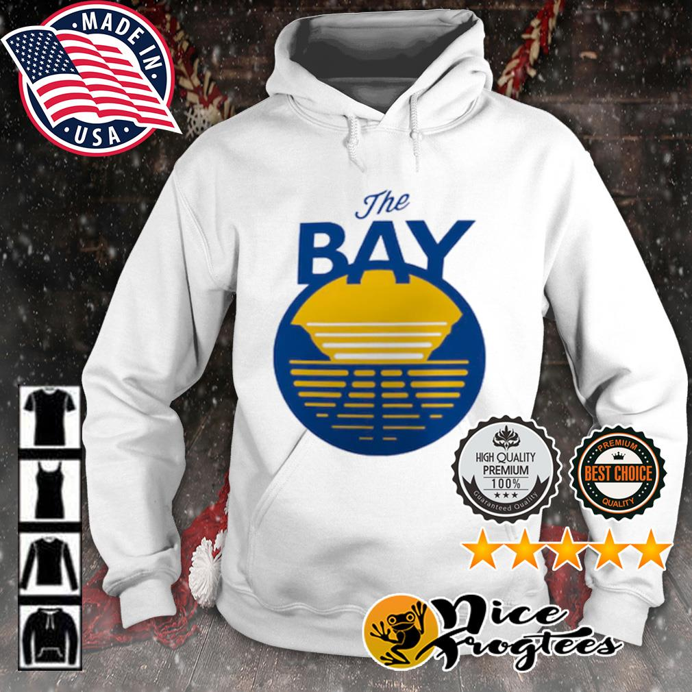 Golden State Warriors The Bay Logo s hoodie
