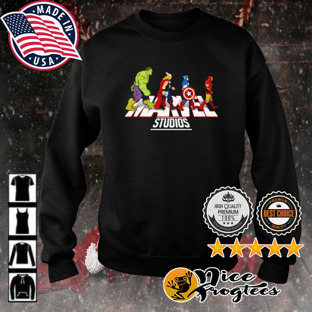Hulk Thor Captain America and Iron Man Abbey Road Marvel Studios s sweater