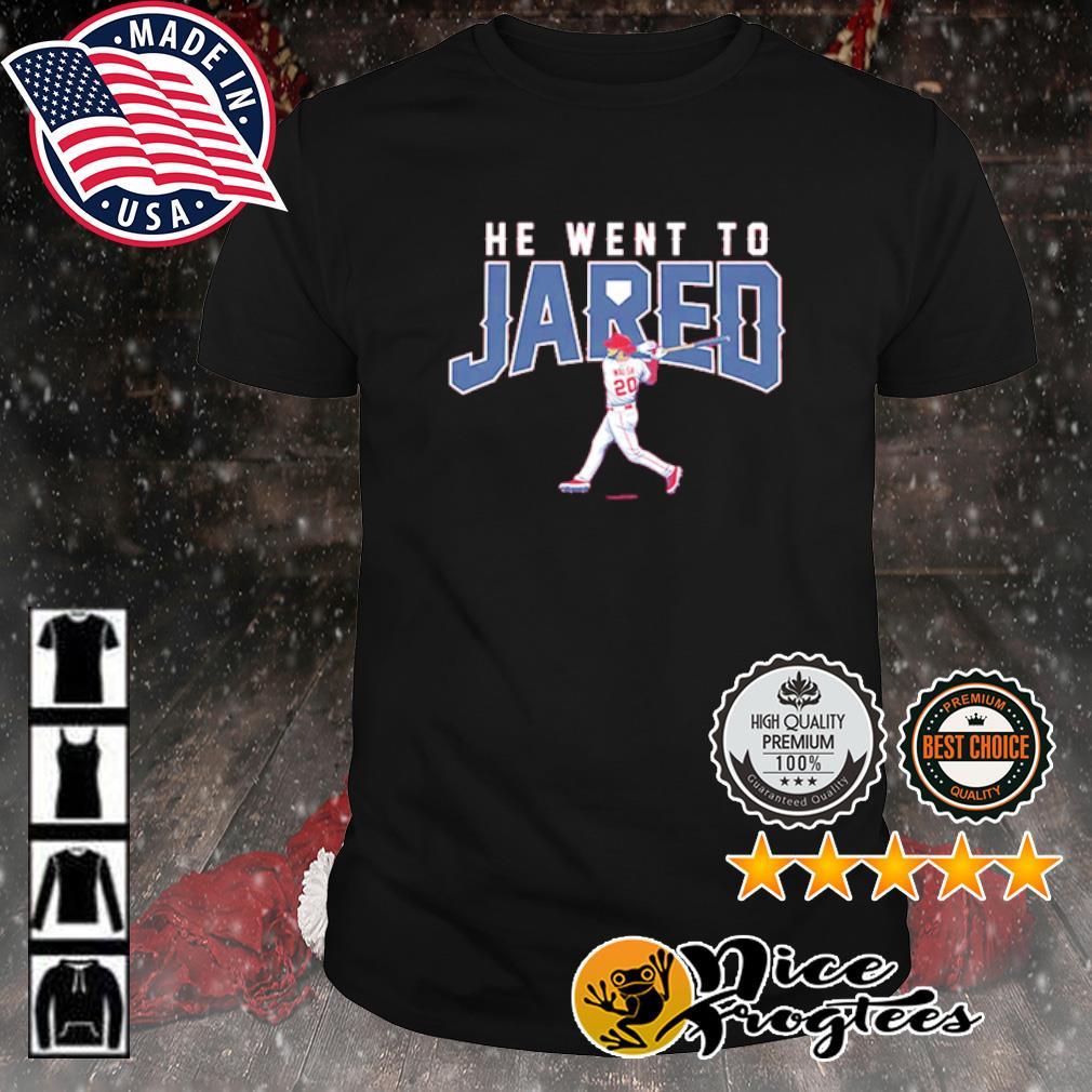 Jared Walsh he went to jared shirt