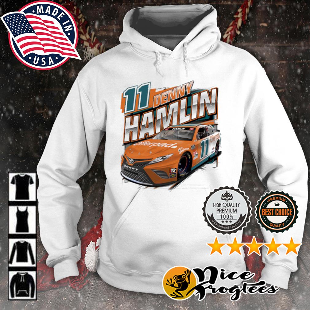 Joe Gibbs Racing Team Collection Denny Hamlin Offerpad Graphic s hoodie