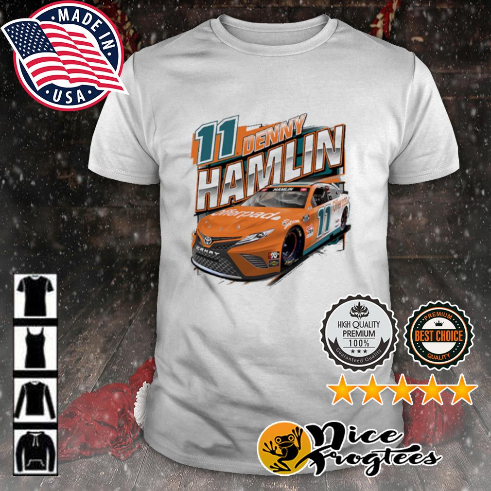Joe Gibbs Racing Team Collection Denny Hamlin Offerpad Graphic shirt
