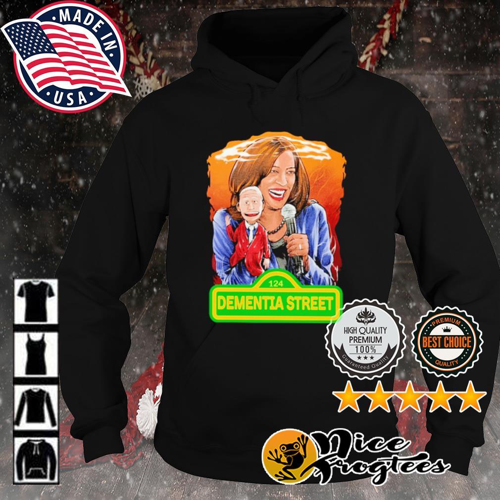 Kamala Harris and Joe Biden 124 Dementia street s hoodie