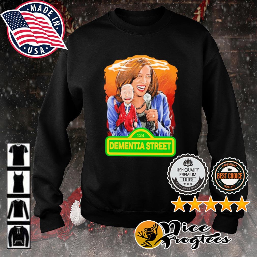 Kamala Harris and Joe Biden 124 Dementia street s sweater
