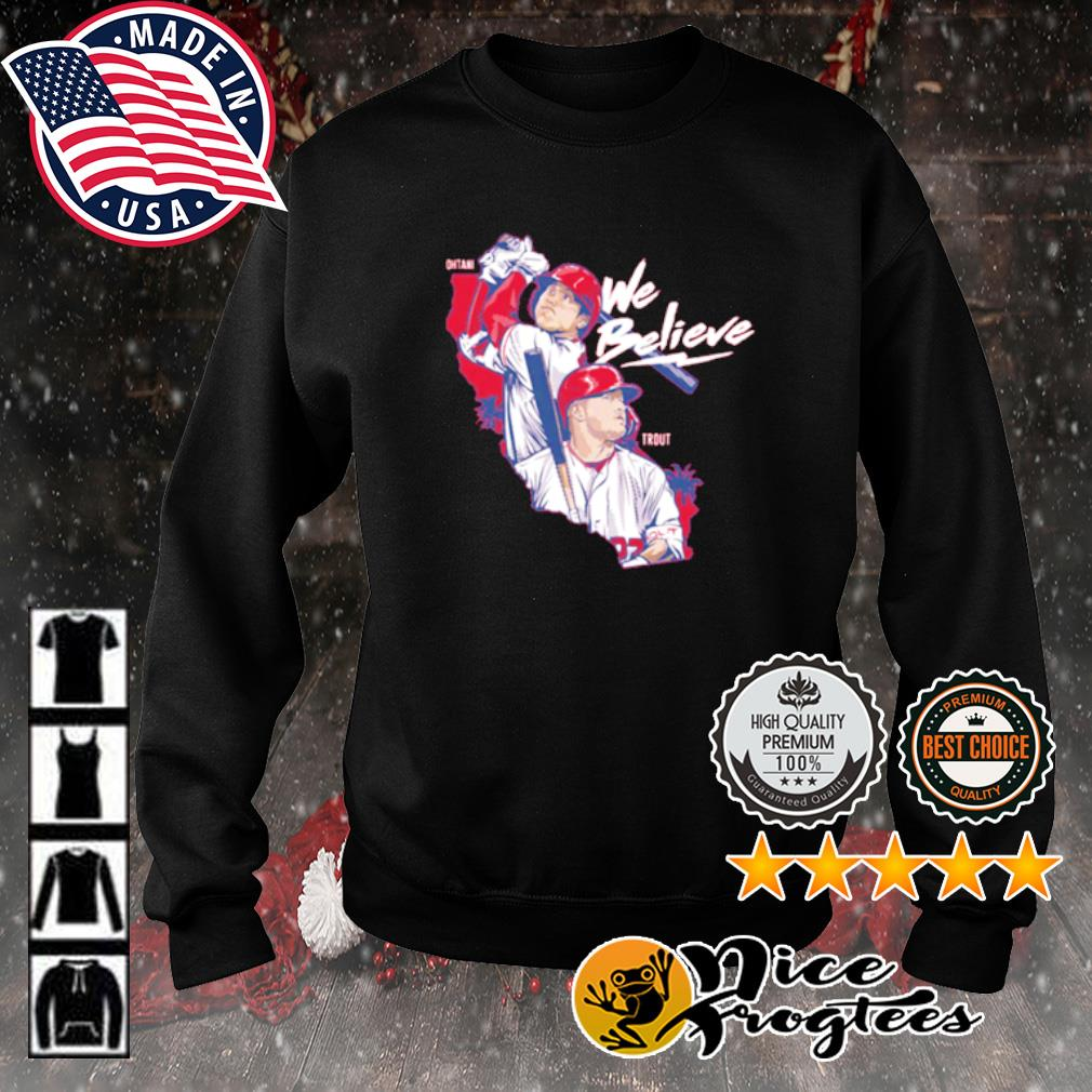 Los Angeles We Believe Ohtani and Trout s sweater