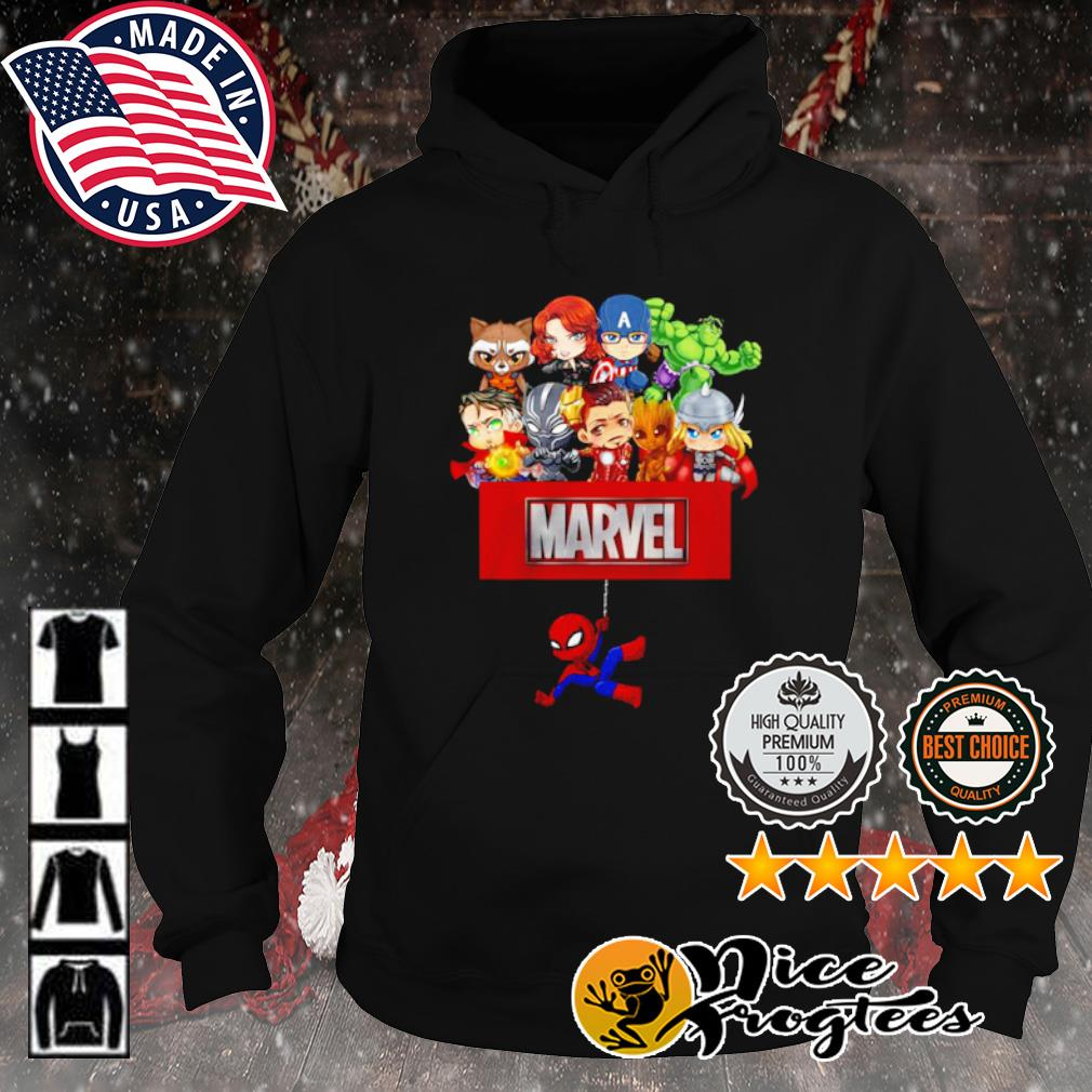 Marvel Avengers chibi s hoodie