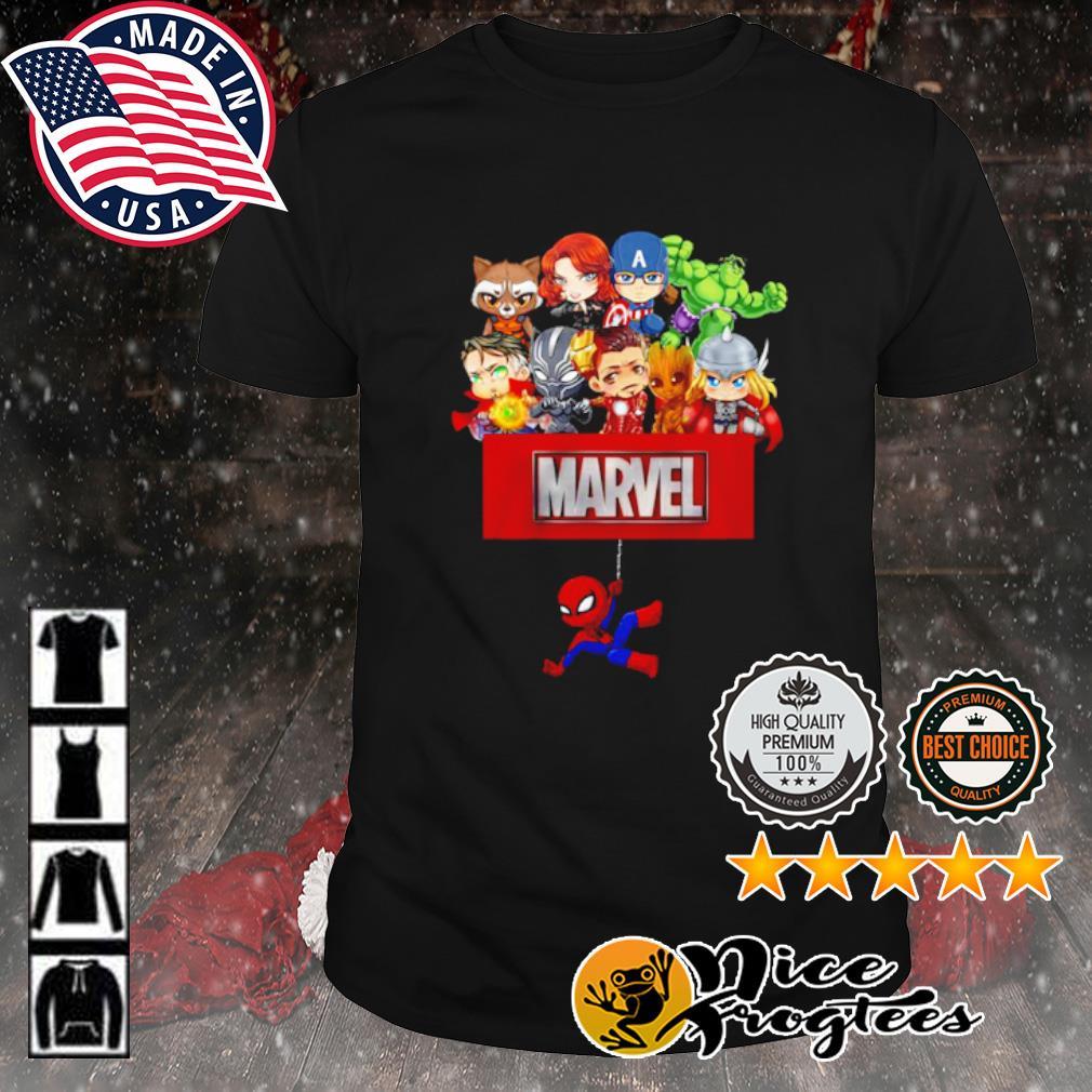 Marvel Avengers chibi shirt