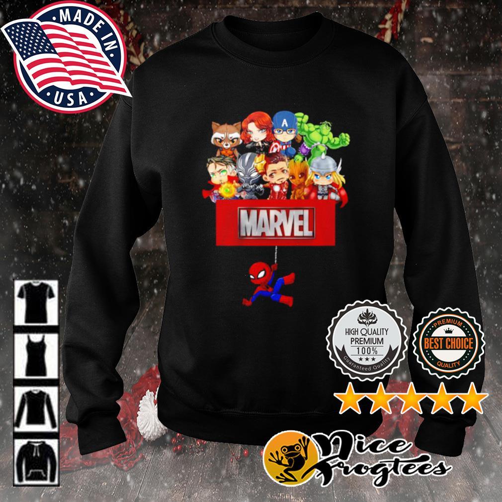 Marvel Avengers chibi s sweater