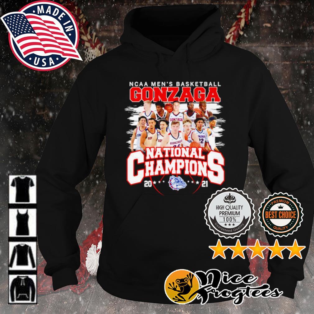 NCAA men's Basketball Gonzaga National Champions 2021 s hoodie