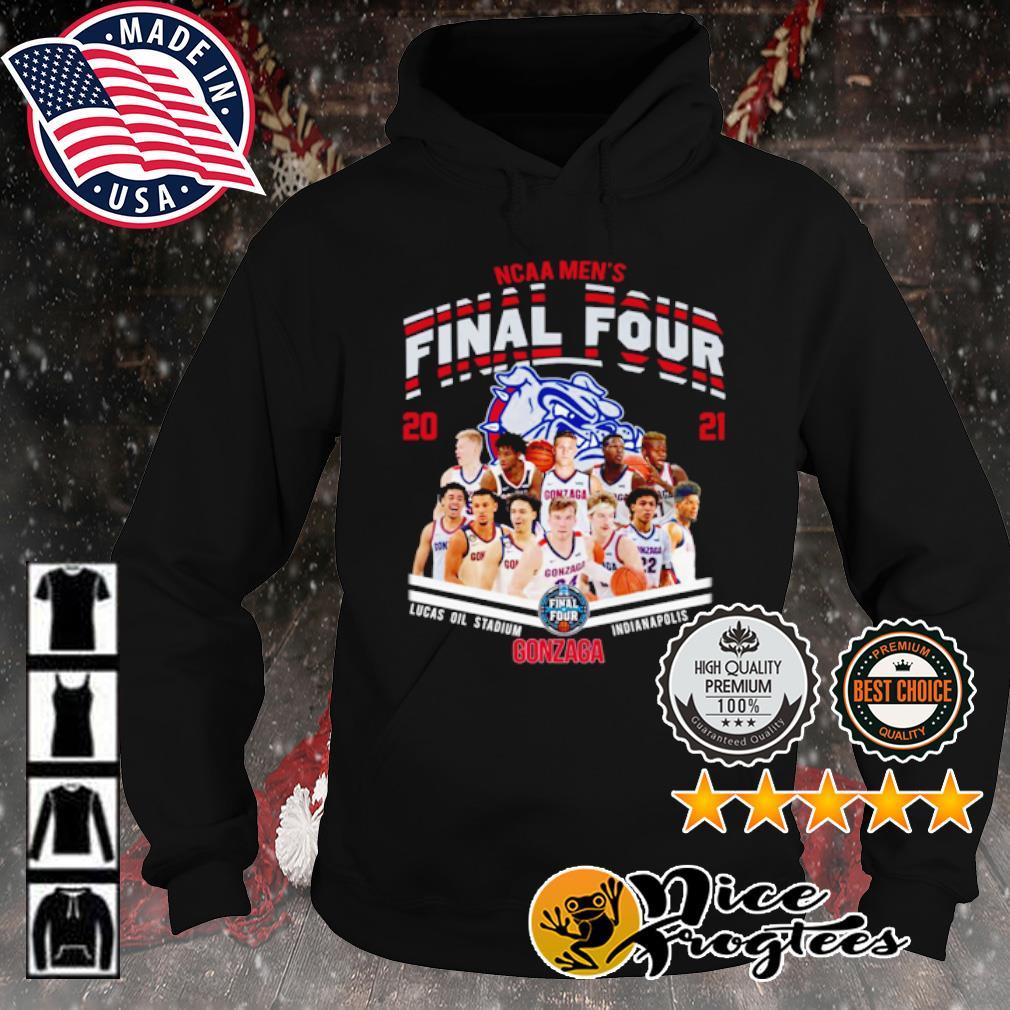 NCAA men's Final Four 2021 Gonzaga Bulldogs s hoodie