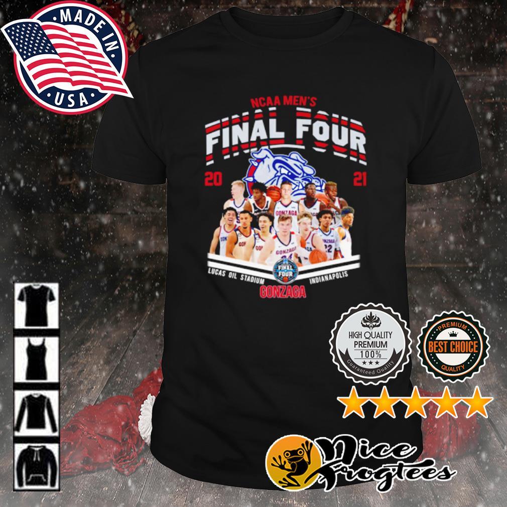 NCAA men's Final Four 2021 Gonzaga Bulldogs shirt