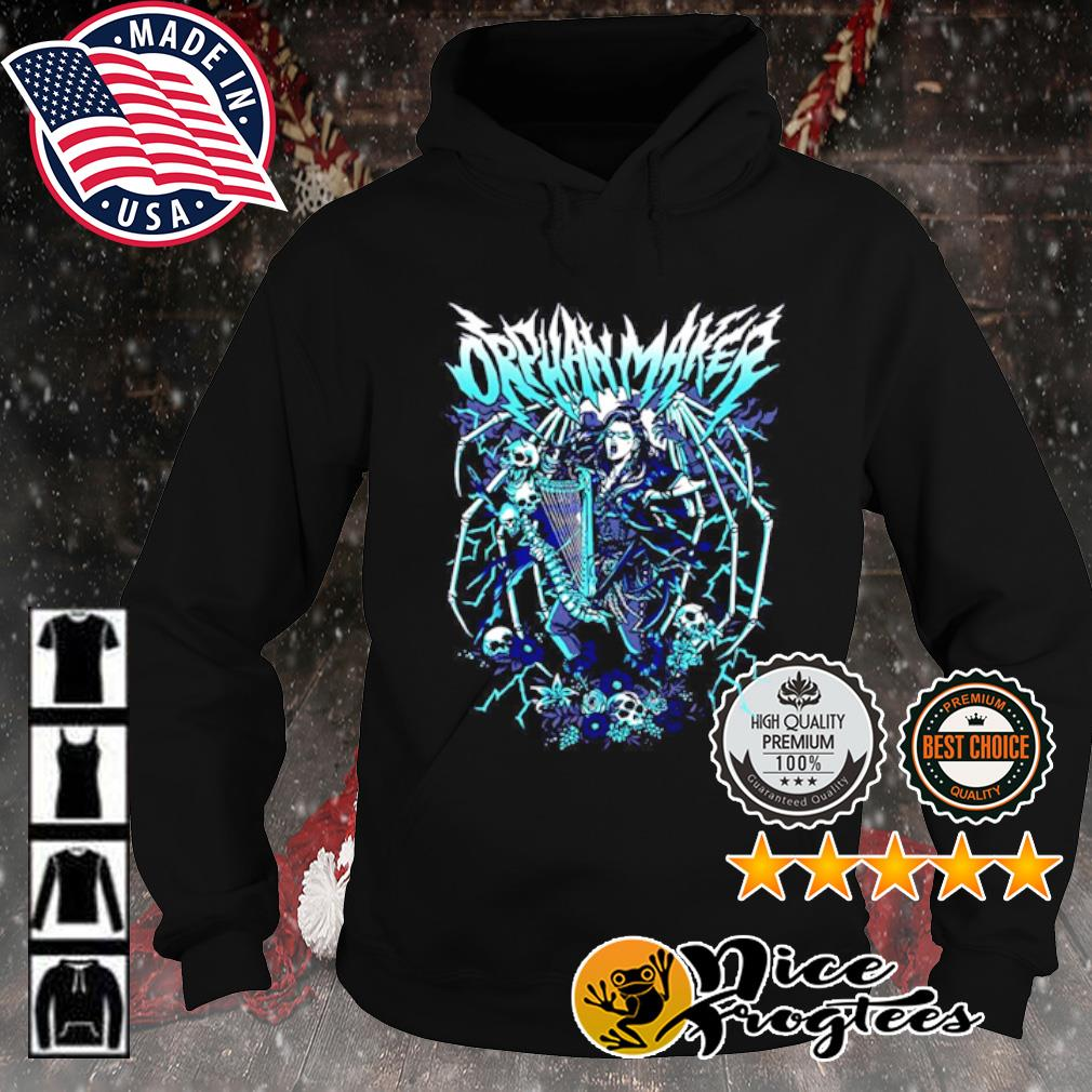 Orphan Maker Band s hoodie