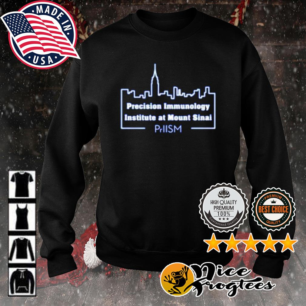 Precision Immunology institute at mount Sinai s sweater