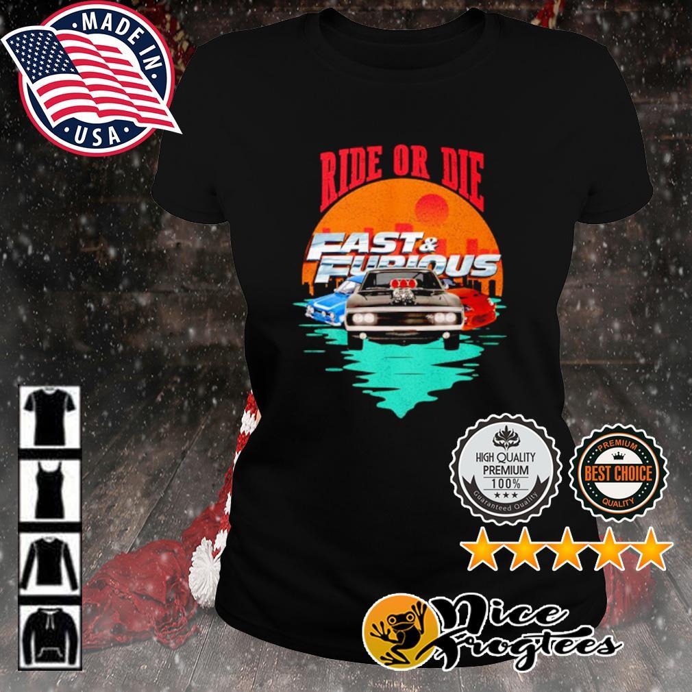 Ride or die Fast and Furious s ladies-tee