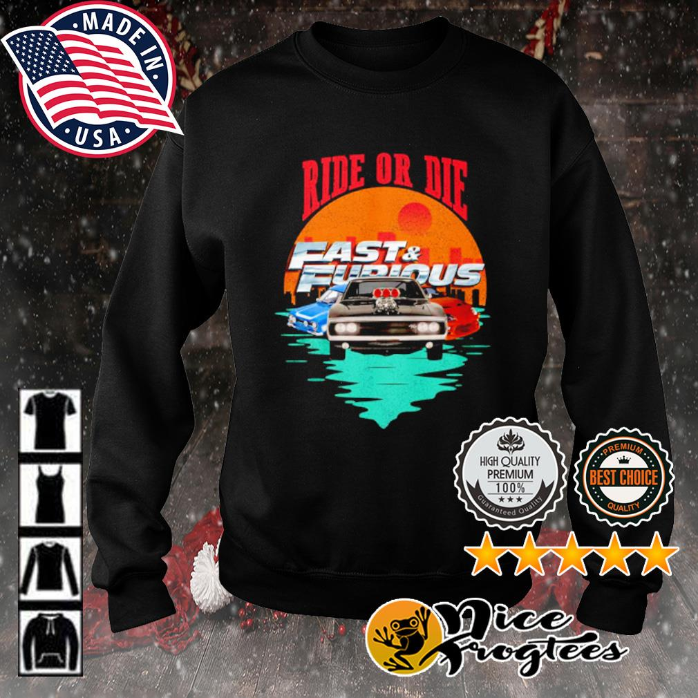 Ride or die Fast and Furious s sweater