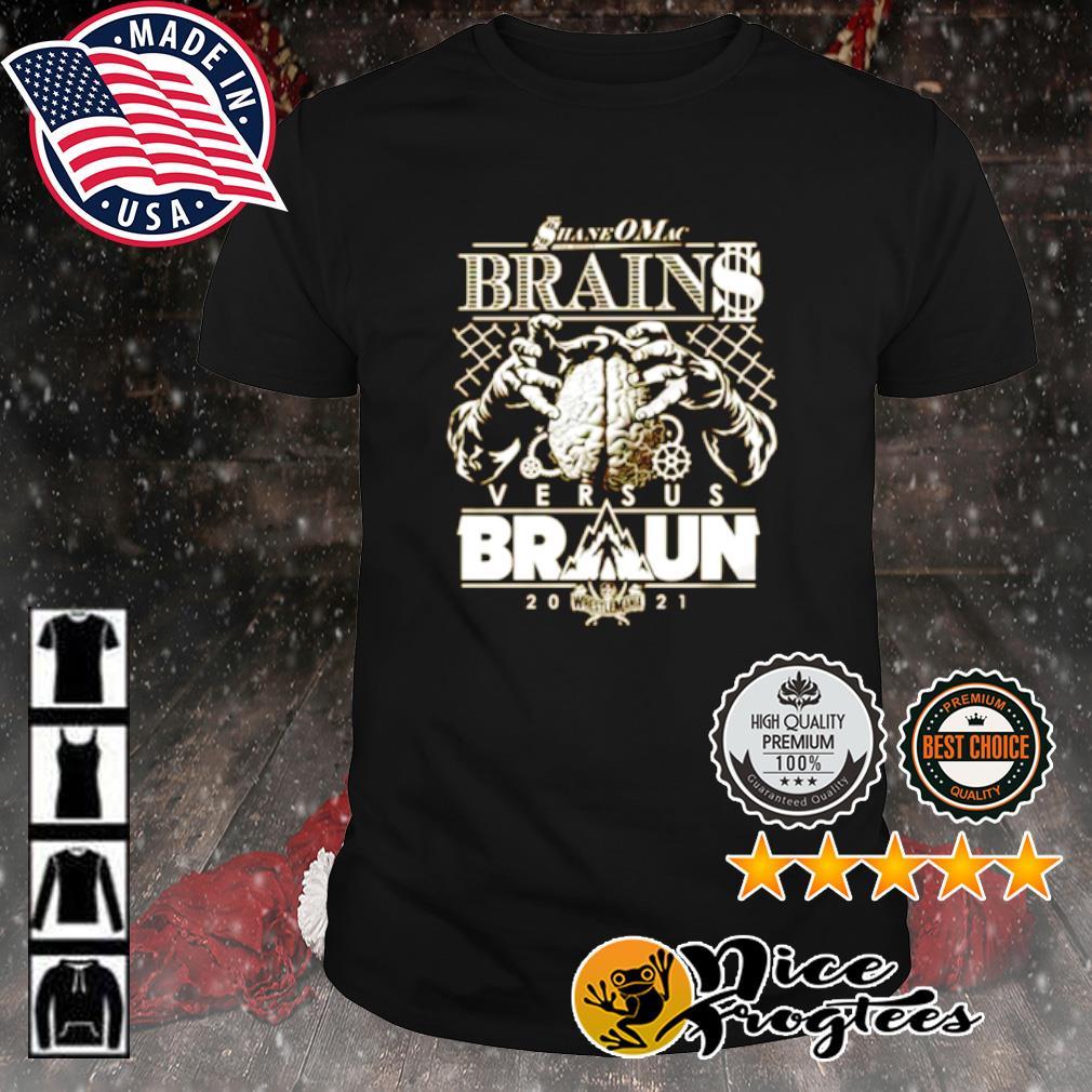 Shane McMahon vs Braun Strowman WrestleMania shirt