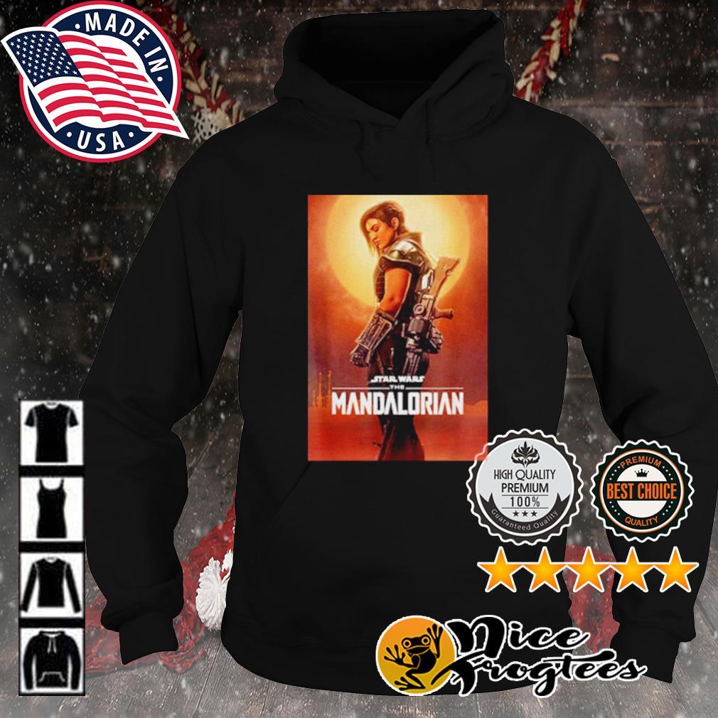 Star Wars the Mandalorian cara dune poster s hoodie