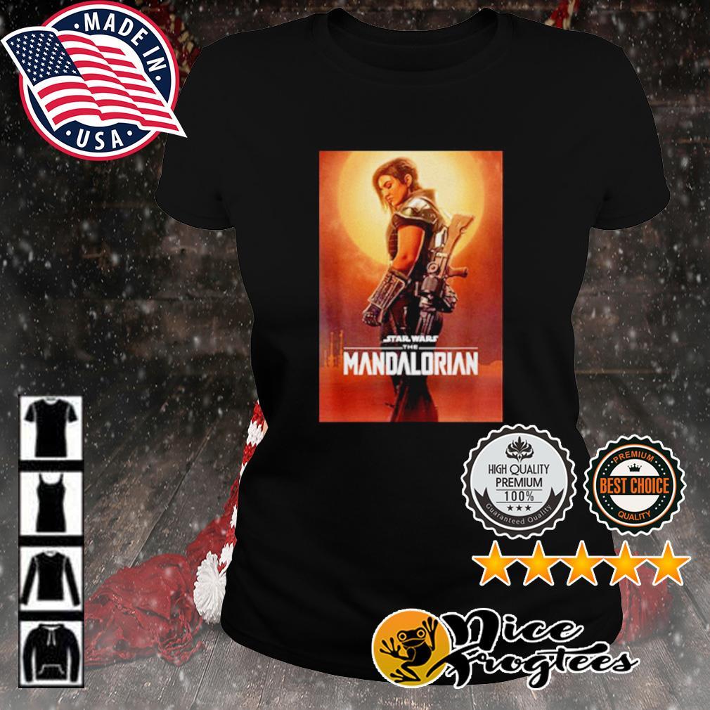 Star Wars the Mandalorian cara dune poster s ladies-tee