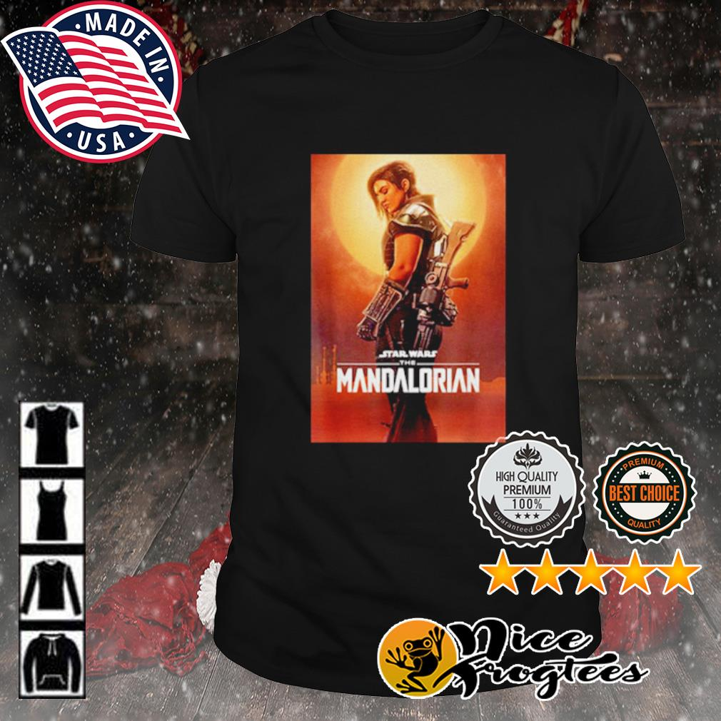 Star Wars the Mandalorian cara dune poster shirt