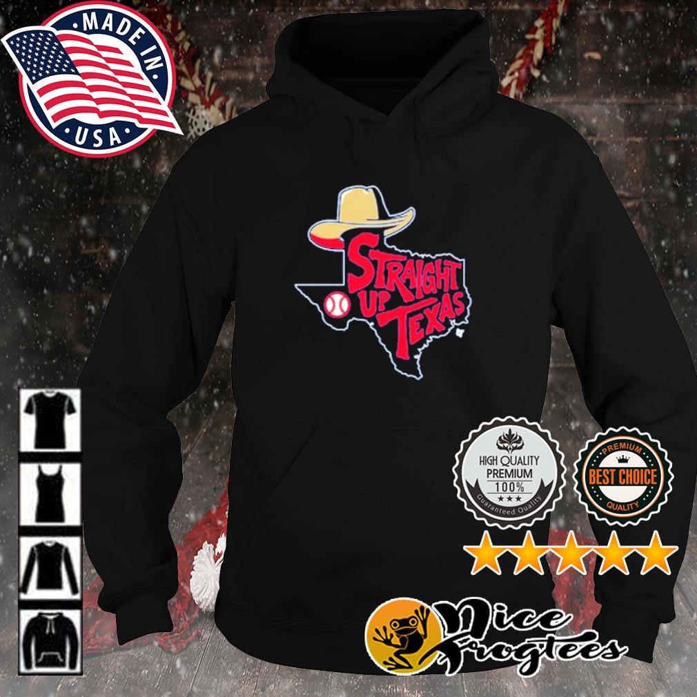 Straight Up Texas Baseball s hoodie