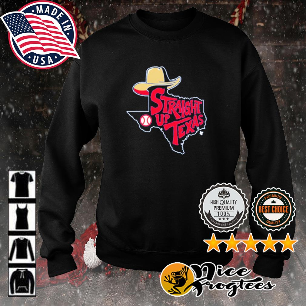 Straight Up Texas Baseball s sweater
