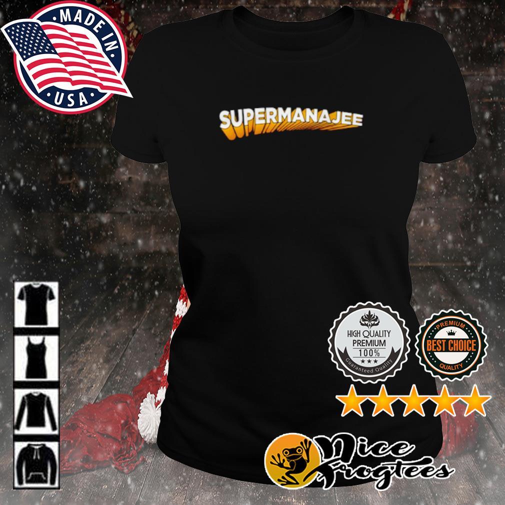 Supermanajee s ladies-tee