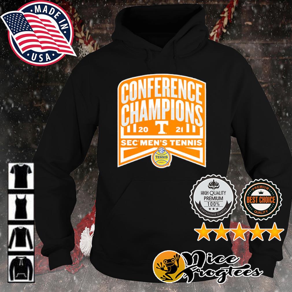 Tennessee Volunteers 2021 SEC Men's Tennis Conference Champions s hoodie