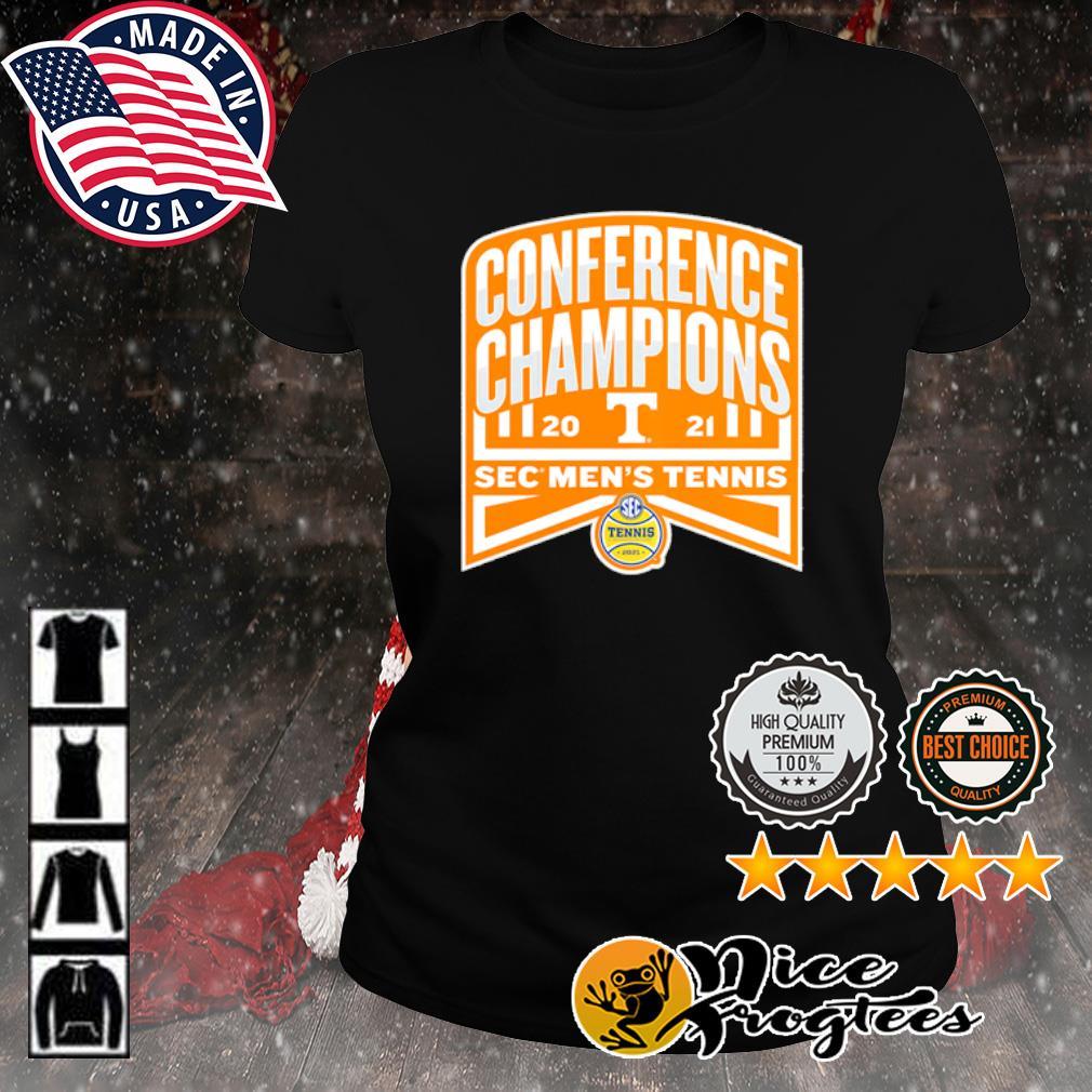 Tennessee Volunteers 2021 SEC Men's Tennis Conference Champions s ladies-tee